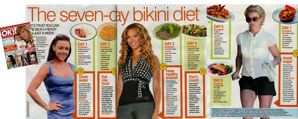 OK! 1 September 2009 - The seven-day bikini diet
