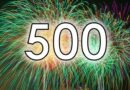 The 500th Monday note!